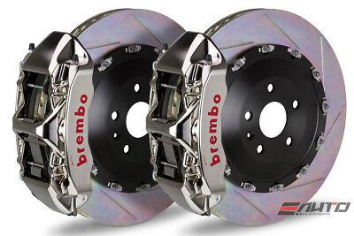 Brembo Front GT BBK Brake 6piston GT-R 405x34 Slot Disc Cadillac CTS-V 09-14