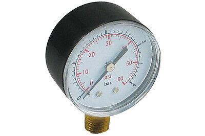 6 Pack Of Pressure Gauge 0-60 Psi For Pentair And Hayward Pool Filters