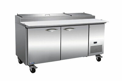 Mvp Group Ikon Ipp71 Refrigerated Counter Pizza Prep Table
