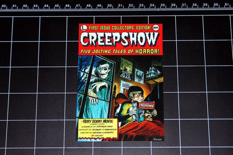Creepshow comic book / movie logo decal sticker 80s horror stephen king romero