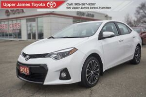 2015 Toyota Corolla S SPORT UPGRADE PACKAGE