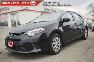 2016 Toyota Corolla LE LE BACKUP CAMERA, HEATED SEATS