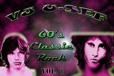 60S Classic Rock  Music Videos   Volume 1   Beatles Dylan Hendrix Stones Doors