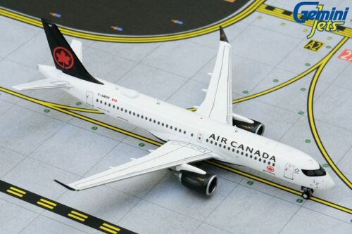 GEMINI JETS (GJACA1733) AIR CANADA A220-300 1:400 SCALE DIECAST METAL MODEL