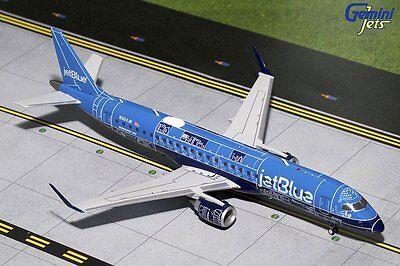 Jetblue Embraer E 190 N304jb Blue Print Livery Gemini Jets G2jbu661 Scale 1 200