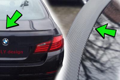 Para BMW E46 Familiar Touring Tuning Alerón Carbono Look Trasero Slim Lip...