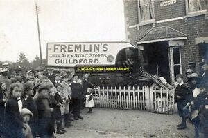 rp14064 - Fremlins Lorry of Guildford accident in Clarence Road - photo 6x4