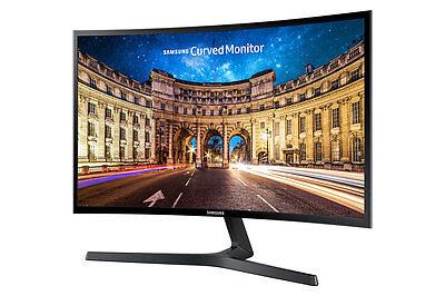 """Samsung Curved Monitor C24F396FH LED-Display 59,94 cm (24"""") schwarz-glänzend"""