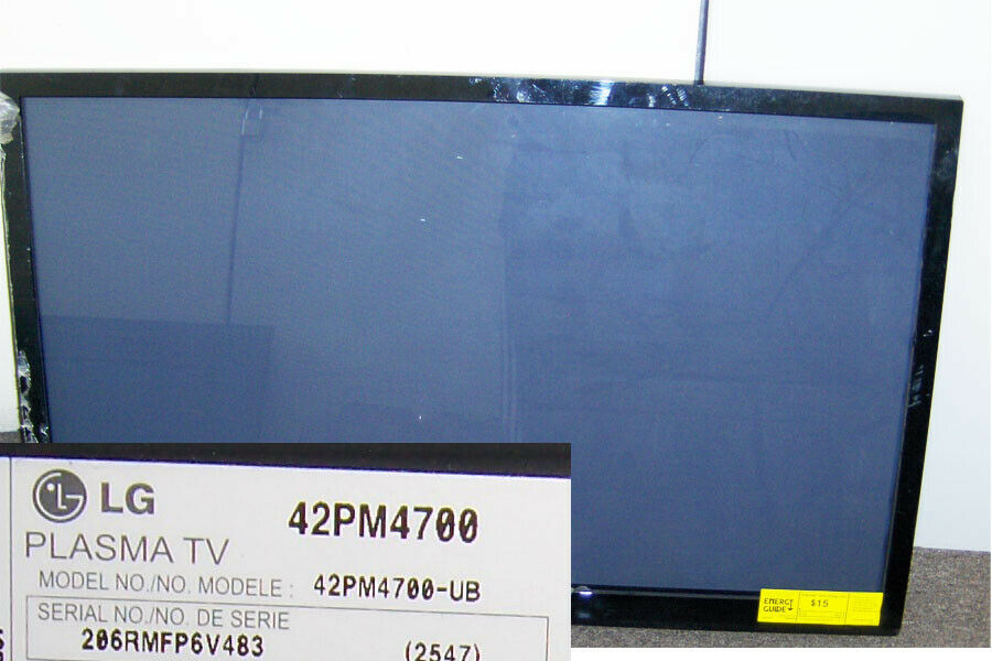 "LG 42PM4700 42"" HDTV 1080P Plasma TV Screen with Frame"