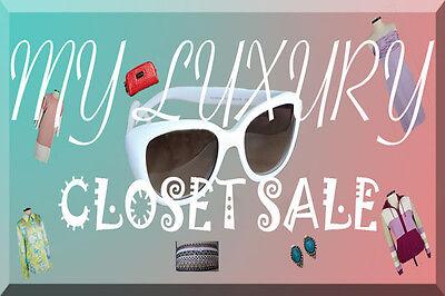 My Luxury Closet Sale