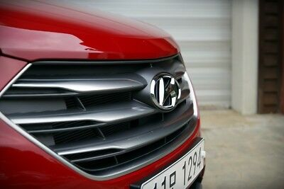 OEM Front Hood Radiator Grille W/O Camera For 2017 2018+ Hyundai Santa fe Sport