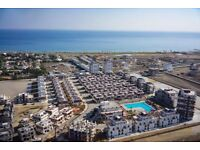 N.Cyprus Holiday apartment for Rent, Sea & sandy beach, furnished studio in a holiday resort. Fab!