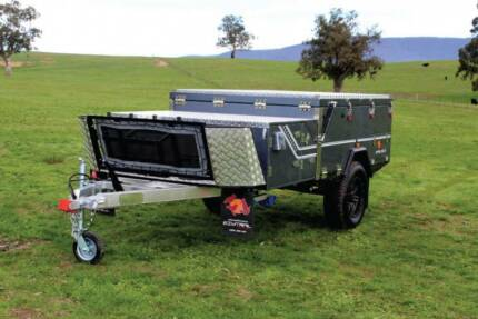 Compact Forward Fold Hard Floor Camper Trailer. PMX Wangara