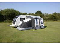 Rally AIR Pro Awning & Pro AIR Annexe. Worth £1000, perfect condition, will take £700 or best offer