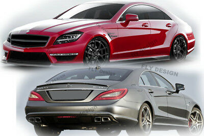 Mercedes CLS AMG Tuning W218 C218 350 500 320 218 Spoiler Heckspoilerlippe Kante