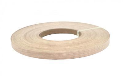 White Oak Wood Veneer Edgebanding Pre-glued 1 X 25