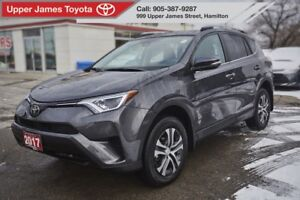 2017 Toyota RAV4 LE LE UPGRADE PACKAGE FWD TRADE IN!