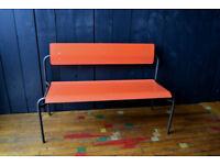 Vintage Formica bench