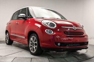 2014 Fiat 500L LOUNGE CUIR, TOIT, CAM, MAGS, BTH*RESERVE*