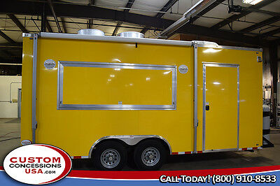 New 8.5 X 20 Concession Trailer-food Vending-financing - Call 8884188855