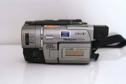 Sony Handycam Vision CCD-TRV47E Hi8 8mm video8 XR tape Camcorder Sydney City Inner Sydney Preview