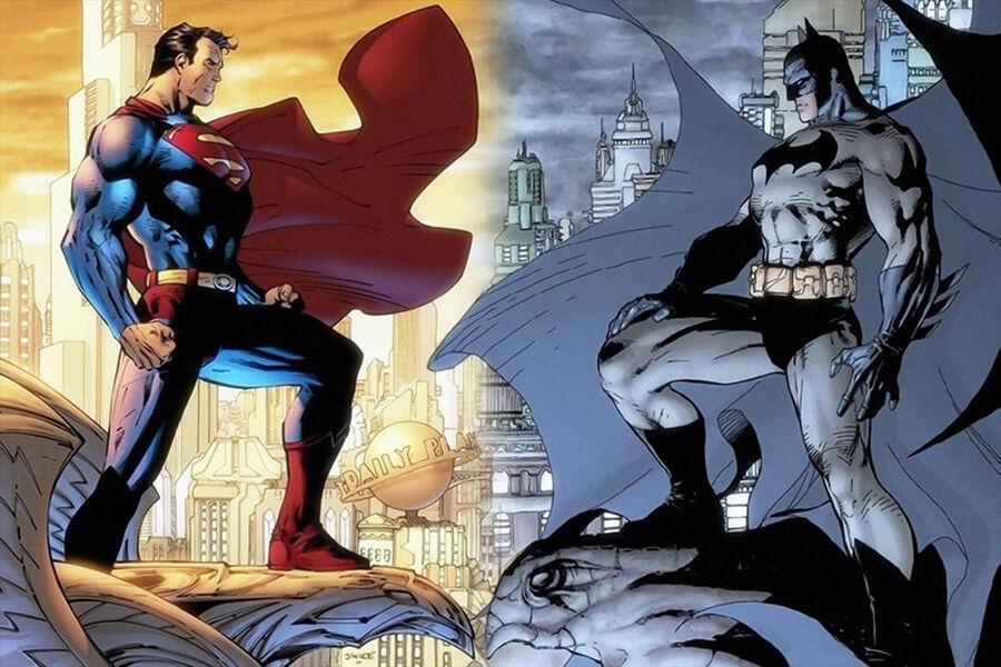 Batman vs. Superman - die Comics der Superhelden im Vergleich