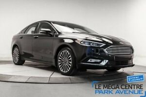 2017 Ford Fusion SE AWD,CUIR,TOIT,NAVIGATION,MAGS