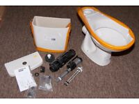 Brand New Toilet with cistern and fittings