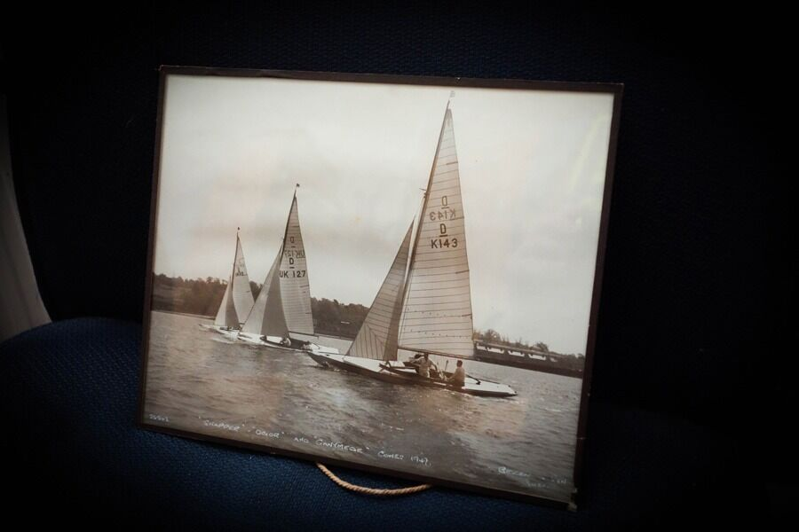 The Dragons of Cowes - 4 Collectable Photographs