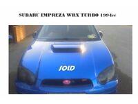 Subaru Impreza WRX STI Blobeye with mobs. 555 classic style Scooby.