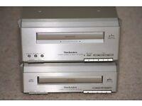 Technics Tape Deck RS-HD350 + Cd Player SL-HD350