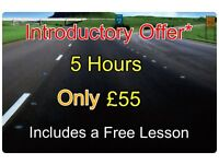 Driving Lessons - 5 hours only £55*