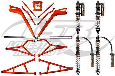 Lonestar MTS +3.5 A-Arms + Fox 2.5 Podium RC2 RZR1000 RZR 1000 1000XP XP Turbo