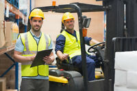 Warehouse Workers for Full Time Day shifts Needed