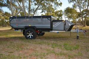 PMX Camper Trailer: Lincoln Z Dual Hard Floor Twin bed camper