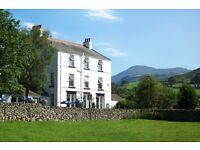 Chef and front of house couple to join our busy team in the lakes - Live in available