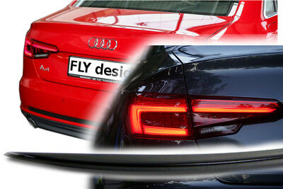 Audi A4 Quattro Diseño Deportivo Slim Negro Cuerpo Set Karossierie Llantas Heck