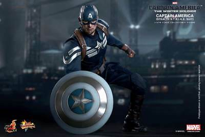 Hot Toys Captain America Winter Soldier STRIKE / Stealth Suit Chris Evans MMS242