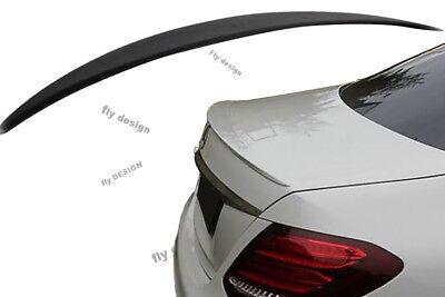 Mercedes W213 E-Klasse Tuning AMG Look HECKSPOILER HECKFLÜGEL SPOILER Lippe Lid