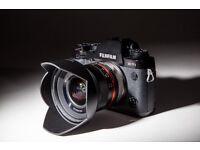 Fujifilm X-T1 Digital Camera with new 12mm f2 lens