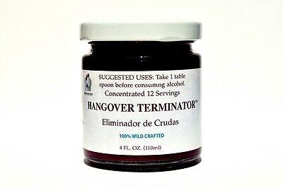 Prickly Pear HANGOVER TERMINATOR (Juice) 4oz. %100 Pure Concentrate, NO sugar