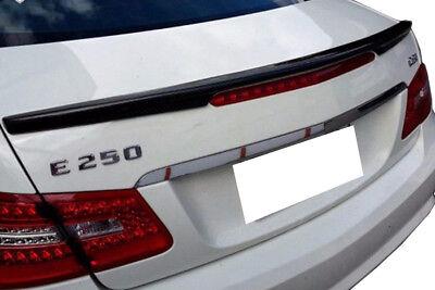 Mercedes w207 c207 coupe ab 2010 abrisskannte heckspoiler flügel echtes carbon