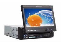 Eonon D1301 In Car Cd Dvd Player Bluetooth Sd Card Flip out 7inch screen