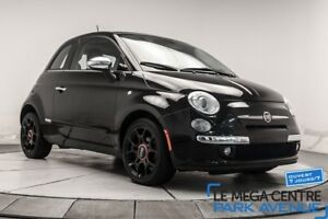 2014 Fiat 500 LOUNGE CUIR, **RESERVE** BTH, TOIT, MAGS **TRES PR