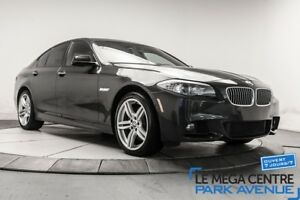 2013 BMW 5 Series xDrive M-SPORT AWD, CUIR, TOIT, NAVIGATION