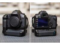 Canon EOS 5D MKII 21.1 megapixel DSLR full frame camera -Body + Battery Grip - low shutter