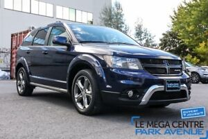 2017 Dodge Journey Crossroad AWD 7 PASSAGERS, CUIR, BTH