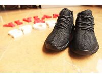 Adidas yeezy 350 boost Private Black best quality come with box3-12UK