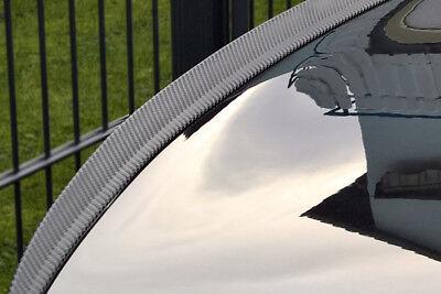 Para BMW E60 M5 Deporte Tuning Alerón Carbono Look Trasero Slim Lip...