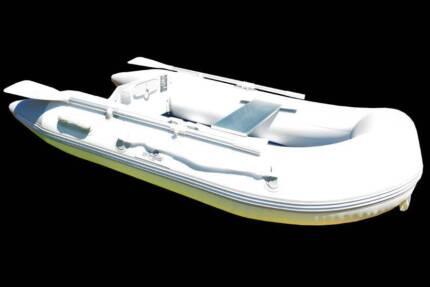 Newport 2.50M Inflatable Boat - Air Deck Floor - 2 Year Warranty